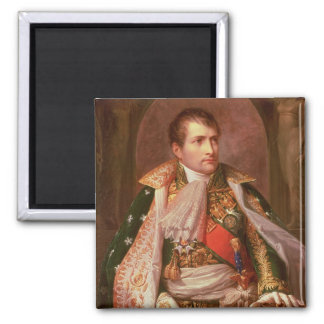 Napoleon Bonaparte (1769-1821), comme roi de l'Ita Magnet Carré