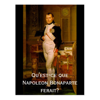 Napoleon Bonaparte 2 Carte Postale