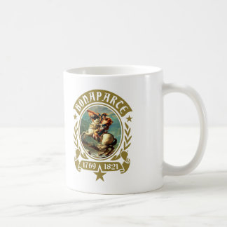 Napoleon Bonaparte croisant la tasse de café