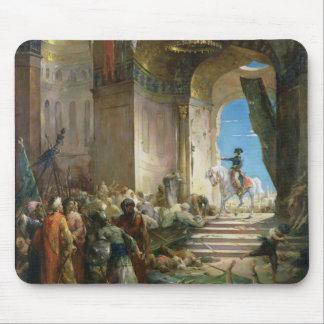 Napoleon Bonaparte dans la mosquée grande au Caire Tapis De Souris