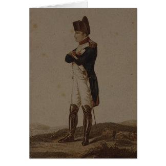 Napoleon Bonaparte en tant que d'abord consul Carte
