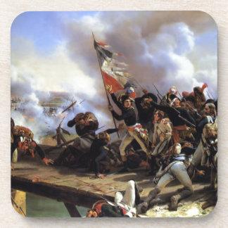 Napoleon Bonaparte menant ses troupes Sous-bock