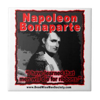 Napoleon Bonaparte meurent pour la citation de Petit Carreau Carré