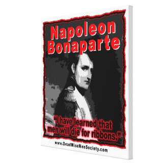 Napoleon Bonaparte meurent pour la citation de Toiles