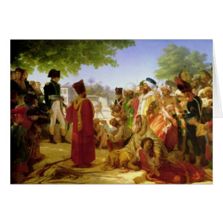 Napoleon Bonaparte pardonnant les rebelles Carte