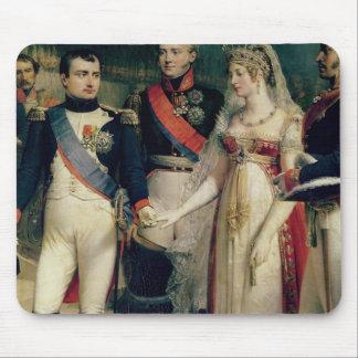 Napoleon Bonaparte recevant la Reine Louisa Tapis De Souris