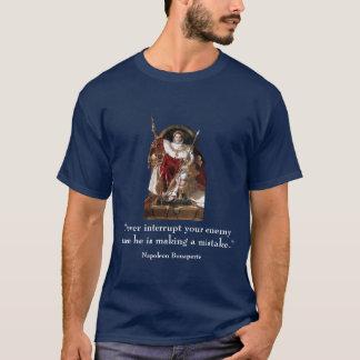 Napoléon et citation t-shirt