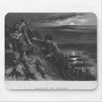 Napoléon I Bonaparte traversant la rivière Tapis De Souris