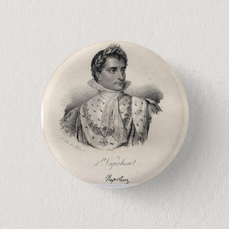 Napoléon Le Grand Badge Rond 2,50 Cm