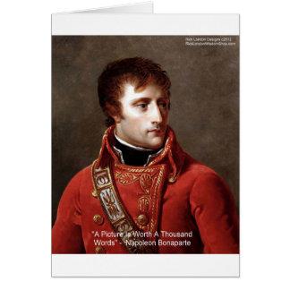"""Napoléon tee - shirt de """"1000 mots"""", tasses, carte"""