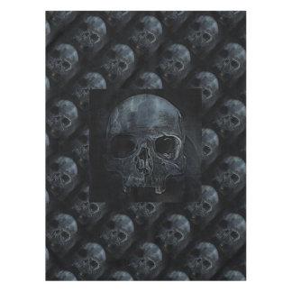 Nappe Crâne squelettique gothique éffrayant de rayon X
