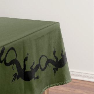 Nappe d'art de reptile/lézard de nappe de lézard