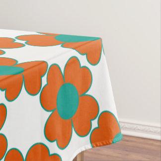 Nappe Fleurs de coeur de l'eau de mandarine et de