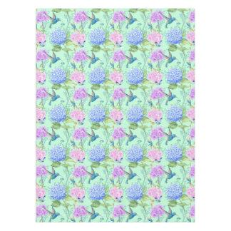 Nappe Vert de menthe de bleu de lavande de colibri