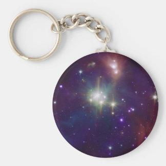 NASA van de de stercluster van de kroon infrarode Sleutelhanger