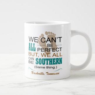 Nashville tout peut être tasse enorme du sud