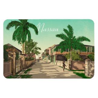 Nassau, Bahamas Magnet Flexible