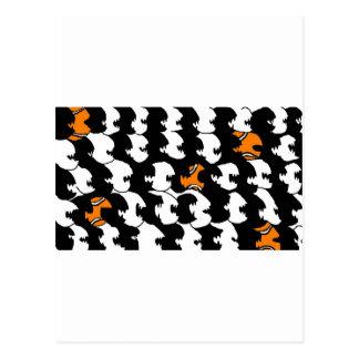 natation en mer de noir carte postale
