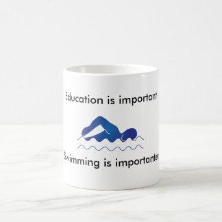 Natation Mug