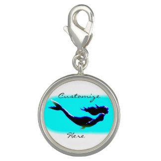 natation sous-marine de sirène breloques