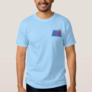 Natation synchronisée  t-shirt brodé
