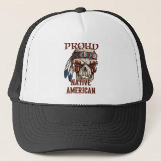 Natif américain fier casquette