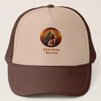 Nation cherokee casquette
