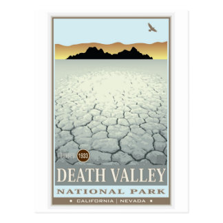 Nationaal Park 3 van de Vallei van de dood Briefkaart