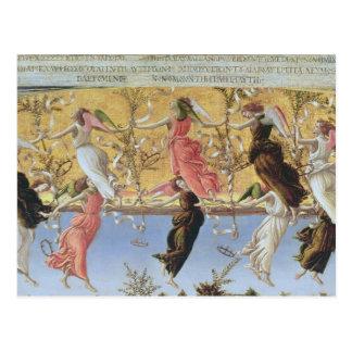 Nativité mystique carte postale