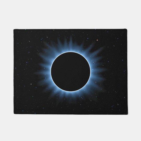 Natte d'éclipse solaire paillasson
