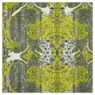 Nature dans le motif vert de tissu
