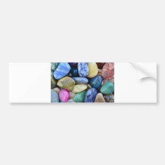 nature de roche de texture de motif de gemmes autocollant de voiture