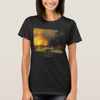 Naufrage au paysage marin du mont Athos Ivan T-shirt