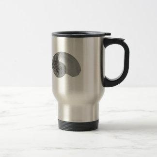 Nautilus Shell de simplicité de complexité Mug De Voyage