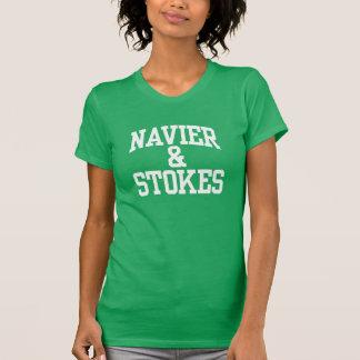 Navier et charge le T-shirts de femmes