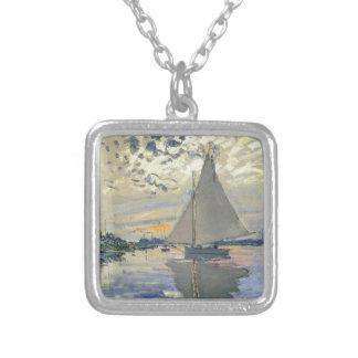 Navigation de l'eau de bateau de Monet dans Collier