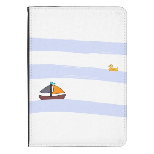 NAVY COVER FOR KINDLE / COQUE POUR KINDLE MARITIME