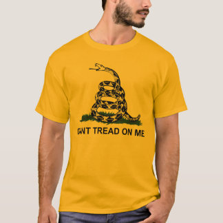 Ne marchez pas sur moi le T-shirt de base