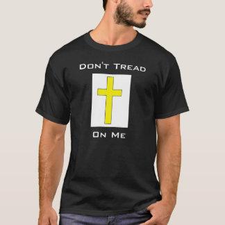 Ne marchez pas sur moi plus la liberté religieuse t-shirt