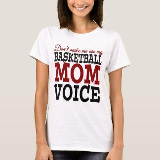 Ne m'incitez pas à utiliser mon T-shirt de voix de