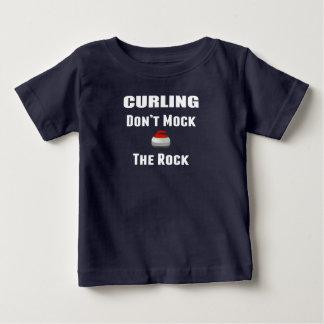 Ne raillez pas le T-shirt de bordage de roche