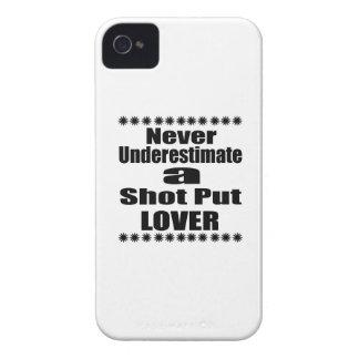 Ne sous-estimez jamais l'amant mis par tir coques iPhone 4 Case-Mate