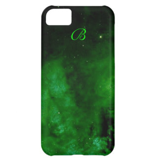 Nébuleuse dans la caisse verte étrangère de l'iPho Coque iPhone 5C