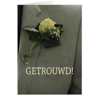 Nederlandse huwelijksgelukwensen briefkaarten 0