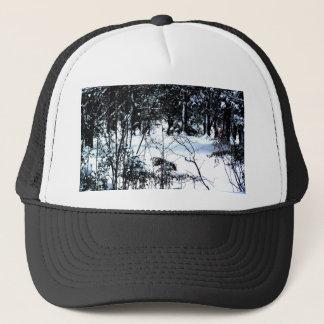 Neige dans les bois casquette