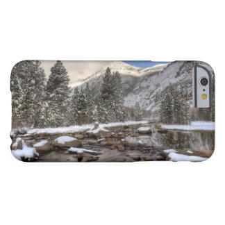 Neige de ressort, sierra Nevada, CA Coque iPhone 6 Barely There