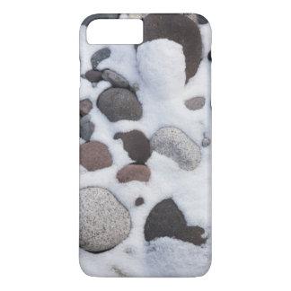 Neige et roches, parc national de mont Rainier 2 Coque iPhone 8 Plus/7 Plus