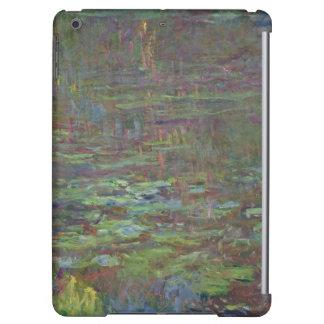 Nénuphars de Claude Monet   au coucher du soleil