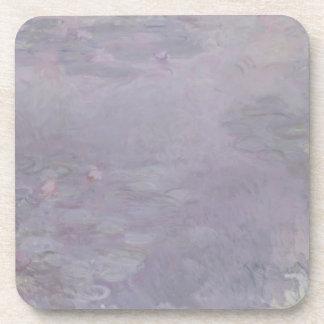 Nénuphars de couleur claire de Claude Monet | Sous-bocks