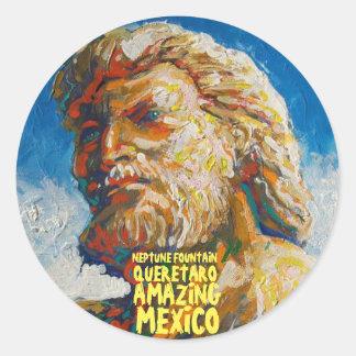 Neptune - autocollant stupéfiant du Mexique